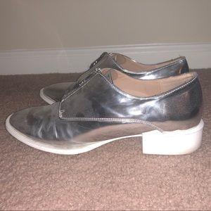 ZARA | Silver Shoes